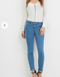 Last chance! Forever 21 Low Rise Jeggings